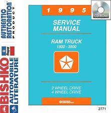 1995 Dodge Ram Truck Shop Service Repair Manual CD Engine Drivetrain Electrical