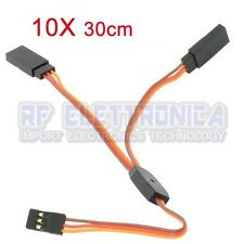 10X Amass 30CM Y Servo Cable Lead Splitter For JR Spektrum HITEC