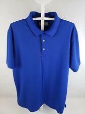 EUC PGA Tour Men's Polo Shirt XL Blue Golf Clothing Fitted Style