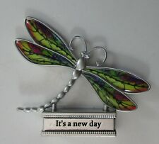 zze It's a new day Live With Joy Dragonfly Figurine miniature Ganz