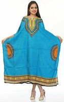 New Long Kaftan dress Hippy Boho Maxi Free plus Size Top Dress Gown Women Caftan
