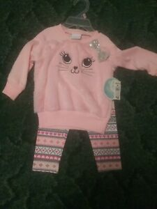 NWT Baby Girl Two Piece Outfit Size 18 Months
