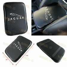 X1 Stitching Carbon Car Center Console Armrest Cushion Mat Pad Cover for JAGUAR