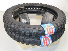 New Pair Traction Knobby Tires Tubes Set 2.75 x 17 CT90 CT110 Trail 90 110 #C80