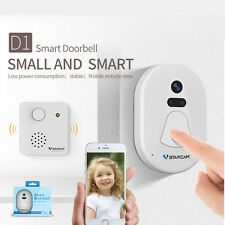 Wireless Smart Wifi Doorbell with Camera Door Camera with IR Night Vision