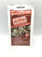 24 Pack Blue Magic Just for Leather Cleaner Towel / wipe