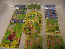 Phineas & Ferb Party Pack for 30 Children - Tableware And Decorations Kit
