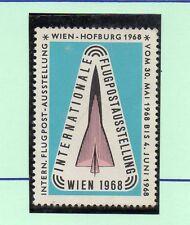 Austria Expo I. Correo Aéreo Viena año 1968 (CF-897)