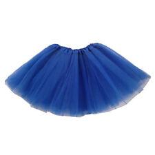 Kinder Maedchen Modern Ballett Verkleiden Fee Tutu Rock Dunkel Blau G6U2 Q5B1