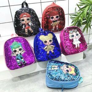 Children's LOL Sequin Shoulder Backpack
