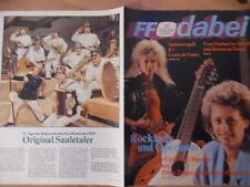 + FF DABEI 27 - 1988 Petra Zieger B.Eisenfeld Louis de Funès Ohne Programmteil