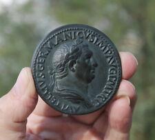 Rom; Emperor Vitellius, 15-69 AD, French medaille; sestertius