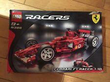 LEGO Ferrari F1 Racers 8386 1:10 scale Collectors Item - BOXED - UNUSED