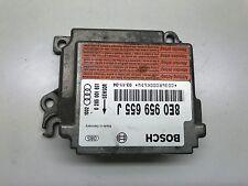 AUDI A4 B6 2003 2.5 TDI AIR BAG CONTROL UNIT MODULE ECU 8E0959655J 0285001691