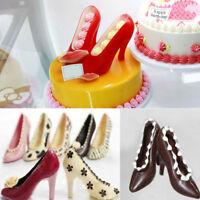 High Heel Shoe Fondant Mold Cake Decorating Chocolate Sugarcraft Baking Mould