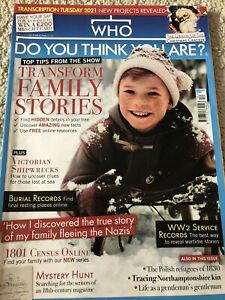 who do you think you are Magazine Issue 172 December 2020