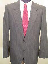 Witty Brothers Black Men's Pinstripe Coat Jacket Men Size 42R Vintage