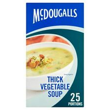 (1-6x25s x276g) McDougalls Thick Vegetable Soup
