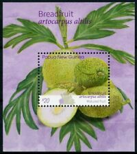 More details for papua new guinea png fruits stamps 2020 mnh breadfruit plants nature 1v s/s