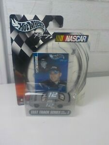#12 RYAN NEWMAN - ALLTEL DODGE - HOT WHEELS 1:64 CAR - 2003 Test Track SERIES