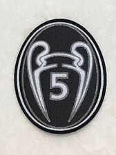 UEFA Champions League Trophy 5 Cup Patch Badge For Barcelona Jersey