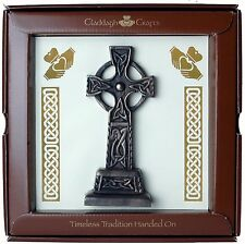 "Bronze Celtic Cross Plaque 6"" (TF06) - Island Turf Crafts"