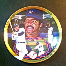 "Ny Yankee Reggie Jackson ""Mr October"" Ltd Ed 6"" Collector Plate 1994"