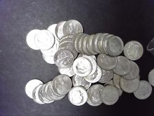 1953-D BU ROOSEVELT DIME ROLL - 90% SILVER - SHIPS FOR FREE IN USA