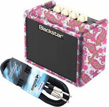 Blackstar FLY 3 Mini Gitarrenverstärker Amp Pink Paisley + Kabel