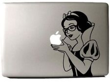 "MacBook 13"" Snow White Donna occhiali Apple adesivo (pre-2016 MB Pro/Air solo)"
