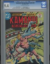 Kamandi #50. 9.4  EPIC. DC. CGC  Tough find in high grade OMAC 4th World