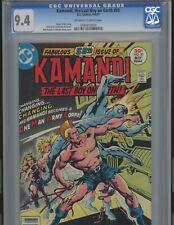 Kamandi #50. 9.4  EPIC. DC. CGC  Tough find in high grade OMAC 4th World