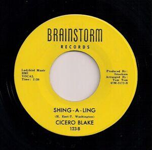 NORTHERN SOUL 7 - CICERO BLAKE - SHING-A-LING / LOVING YOU WOMAN... - BRAINSTORM