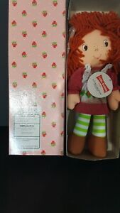 NEW STRAWBERRY SHORTCAKE LITTLE DEBBIE CLOTH RAG DOLL 1995 IN BOX
