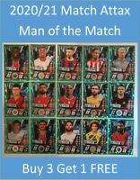 2020/21 Match Attax UEFA - Man of the Match Buy 3 Get 1 FREE Mane Fernandes