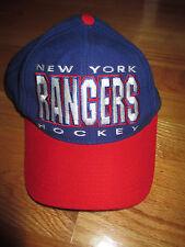 Vintage APEX NEW YORK RANGERS (Adjustable Snap Back) Cap