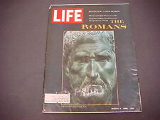 Life Magazine,March 4, 1966,Beginning a New Series- The Romans
