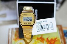 A168WG-9W Gold Original Casio Digital Watches A-168WG (no box)