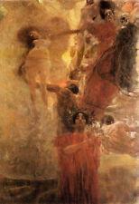 Gustav Klimt - Medicine A3 Art Poster Print