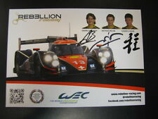 European Le Mans Series Rebellion Racing #13 Lola Toyota Belicchi/Beche/Cheng