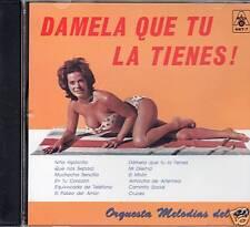 Melodias del 40 Damela Que Tu La Tienes   BRAND NEW SEALED   CD