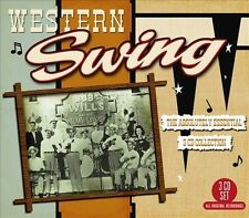 Western Swing: the Absolutely Essential 3 Cd Collection [Digipak] by Various Artists (CD, Apr-2011, 3 Discs, Big3 Records)