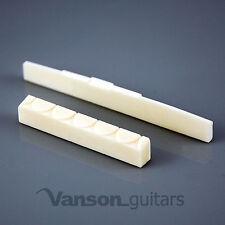 NEW Vanson 52mm Figured Bone Nut & 80mm Comp Saddle for Classical Guitars FGCMP+