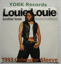 "LOUIE LOUIE - Brother Louie *CALENDAR SLEEVE* - Ex Con 7"" Single HB BOSS 12"