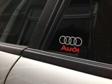 Audi Logo Exterior Styling Badges, Decals & Emblems