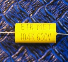 0.1uF 630V AXIAL ETR MET Metalized Polyester Capacitor VALVE AMP / RADIO R1155