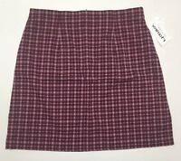 Women's Poly Rayon Spandex Plus Size Plaid Skirts 16W-18W-20W-22W-24W-26W NWT