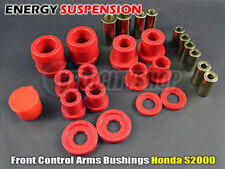 Energy Suspension Front Control Arm Bushings Red Honda S2000