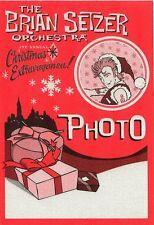 BRIAN SETZER 2007 Christmas Extravaganza Tour Backstage Pass!!! STRAY CATS #1