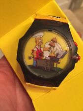 2002 Burger King The Simpsons Talking Homer Wrist Watch New in Box